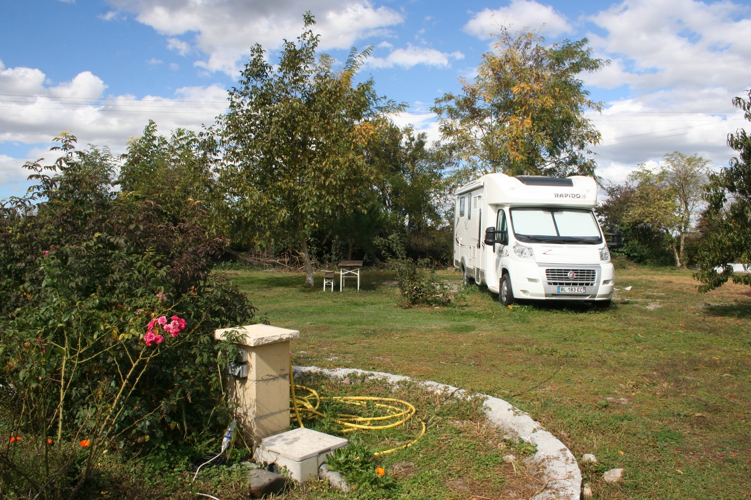 Read more about the article AIRE DE CAMPING-CAR ST VIDIAN